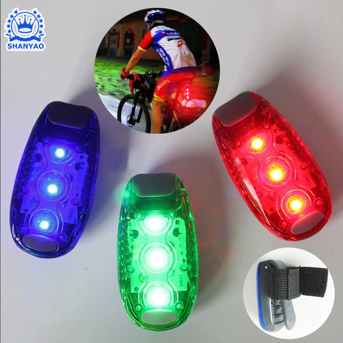 Super Bright LED Bike Bicycle Rear Light Multipurpose For Safety Night Cycling Running Etc