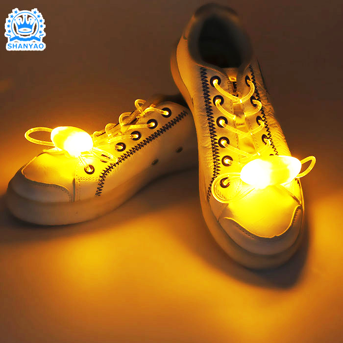 Factory New Funny Style LED Creative Colorful Shoe Laces No Tie Shoelaces For Promotional Gifts
